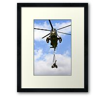 Royal Navy Westland Sea King HC.4 Helicopter Framed Print