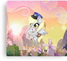 My little pony Derpy Canvas Print