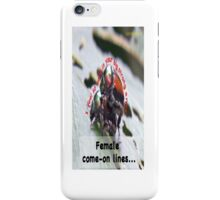 I feel so safe in your big strong arms! iPhone Case/Skin