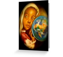 Soul of the Earth Greeting Card