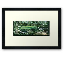 Pine Valley 10th Hole Framed Print