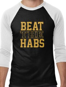 Beat The Habs Men's Baseball ¾ T-Shirt