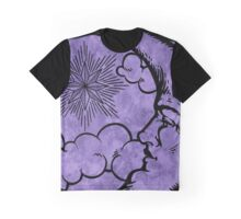Moon vintage violet black Graphic T-Shirt