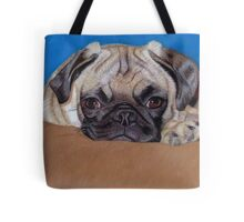 Adorable Pug Puppy Dog Tote Bag
