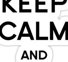 Keep Calm - Carry One Sticker