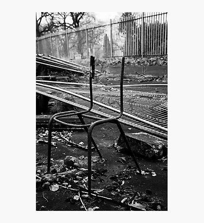 Forgotten chair Photographic Print