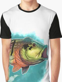 Tucunare (Peacock Bass) Graphic T-Shirt