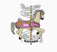 Carousel Horse Lyrics Unisex T-Shirt
