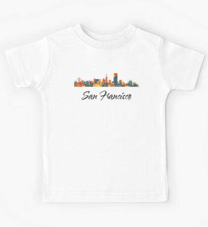 San Francisco Skyline Kids Tee