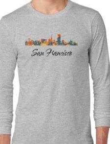 San Francisco Skyline Long Sleeve T-Shirt