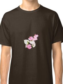 Pink and White Lilies Classic T-Shirt