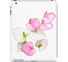 Pink and White Lilies iPad Case/Skin