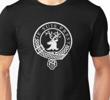 Clan Fraser Motto (White) Unisex T-Shirt