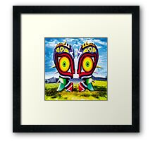 The Majora Bell (Print Version) Framed Print