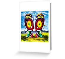The Majora Bell (Print Version) Greeting Card