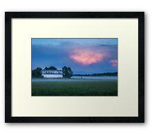 A Passing Spring Storm 2016-3 Framed Print