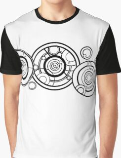 Doctor Who - The Doctor's name in Gallifreyan #1 Graphic T-Shirt