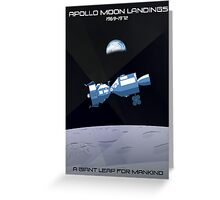 Moon Landings Greeting Card
