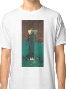 John William Waterhouse - Circe Invidiosa 1892. Woman portrait: sensual woman, girly art, female style, pretty women, femine, beautiful dress, cute, creativity, love, sexy lady Classic T-Shirt