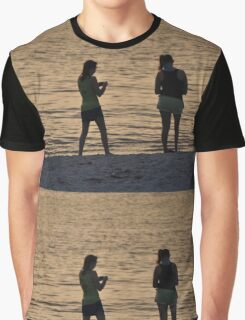 The Girls on the Beach, As Is Graphic T-Shirt