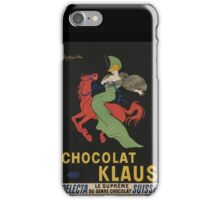 Woman Riding Red Horse iPhone Case/Skin