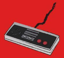 Sketch Game Controller - NES Kids Tee