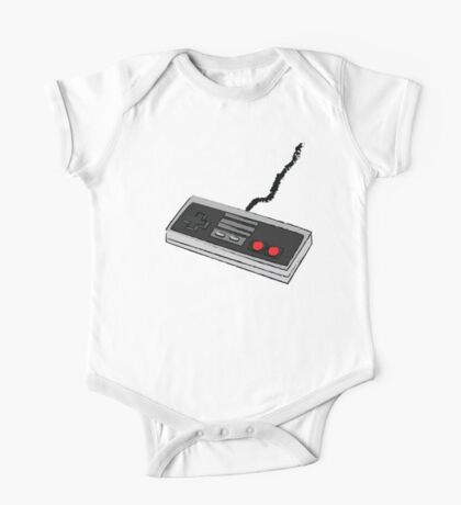Sketch Game Controller - NES One Piece - Short Sleeve