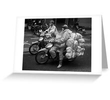 Shot in the Heart of Saigon - (okay, Ho Chi Minh City). Greeting Card