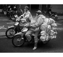 Shot in the Heart of Saigon - (okay, Ho Chi Minh City). Photographic Print