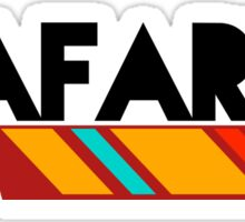 "Jafarlee ""Feather"" Logo Sticker"