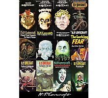 H P Lovecraft Covers Photographic Print