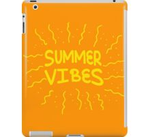 Summer vibes! iPad Case/Skin