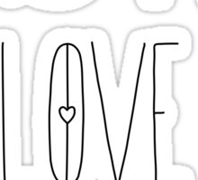 Love Love Love Sticker