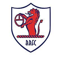 Raith Rovers Badge - Scottish Championship Photographic Print