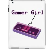 Gamer Girl NES Controller iPad Case/Skin