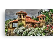 Old Chapel in the Hills Canvas Print