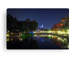 Magical Evening Canvas Print