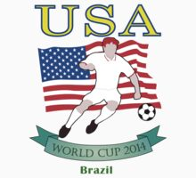 USA World Cup 2014 Team by denip