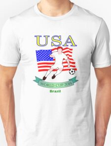 USA World Cup 2014 Team T-Shirt