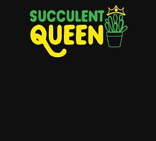 Succulent queen Womens Fitted T-Shirt