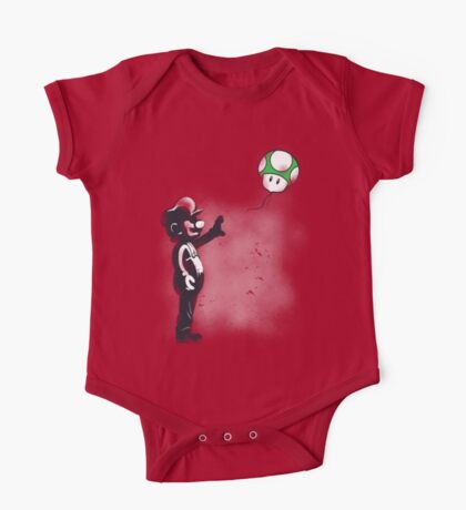 Plumber with mushroom Kids Clothes