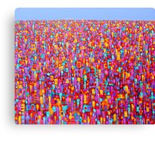 Urban Evolution Canvas Print