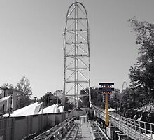 Top Thrill Dragster by Curren Orr