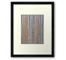 Old Bamboo  Framed Print