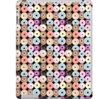 pattern delicious donuts  iPad Case/Skin