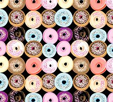 pattern delicious donuts  by Tanor