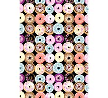 pattern delicious donuts  Photographic Print