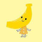Mascot of BANANA by taichi