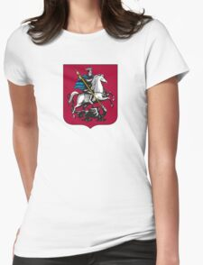 Coat of Arms of Moscow Womens Fitted T-Shirt