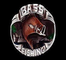 BASS FISHING THROW PILLOW- 4 THOSE FISHERMEN WHO LOVE THEIR BASS LOL.. by ✿✿ Bonita ✿✿ ђєℓℓσ